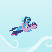 Twilight/Soarin Ship by delectablecoffee