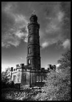 Nelsons Monument by GaryTaffinder