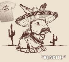 Bundito t-shirt by InfinityWave