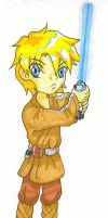 Star Wars CHIBIFIED Luke by aoichan1