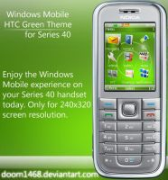 Windows Mobile HTC Green by ChocSoldier