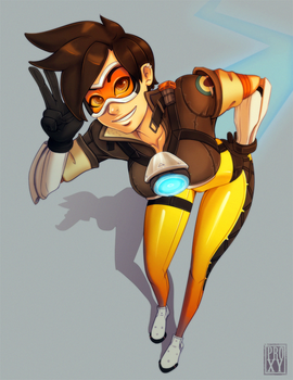 Tracer by ProxyIllustration