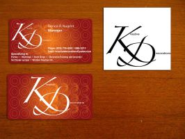 K n D Business Card by yanic