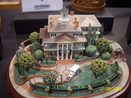 D23: Haunted Mansion model by foxanime101