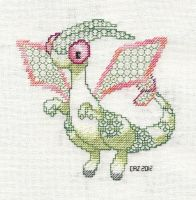 +BLACKWORK+ Flygon by gatchacaz