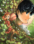 Arrietty and Sho by bexDDD
