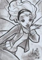 Pixie from new x men commissio by mainasha