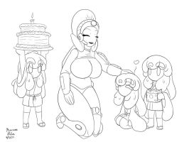 Courtney's birthday party by Anubis2Pabon288