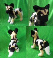 African wild dog: finished by goiku