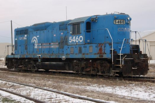 Old Conrail GP8 by JamesT4