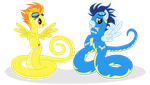 Even the wonderbolts  feel for it by Elsdrake