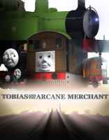 'Tobias and the Arcane Merchant' Official Poster by Tinesaeriel