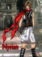 Nyrian colored by Tiatia