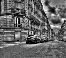 Rue du Rocher, Paris by samsamforever