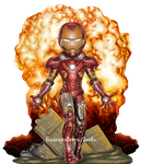Iron Man by Gaaraterra