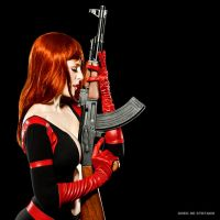 Molotov Loves Guns by JessicaDru