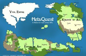 HetaQuest: World Map (detailed version) by icedragon17