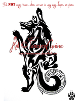 Musical Husky Tattoo by ForeverCanine
