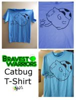 Bravest Warriors Catbug T-Shirt by hoity-toity-holiday