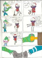 Regualr show Part1 page1~First day here by june565