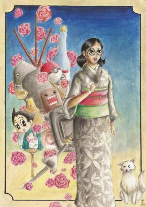 The modern and the traditional Japan by juriTanaka