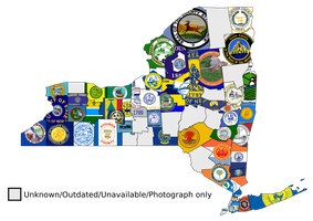 New York County Flags Map by Coliop-Kolchovo