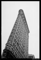 Flat Iron Building, NYC. by progwrx