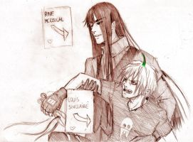 practical joke by Sanzo-Sinclaire