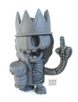 Clutter Mag Toy Prince Dissection by freeny