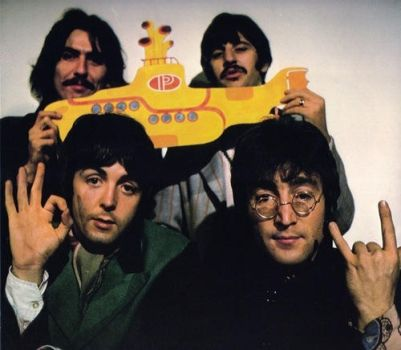 yellow submarine rocks by chaka-boom