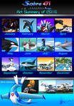 2016 art summary by Sabre471