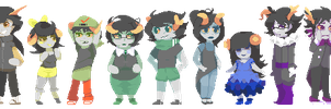 all my fantrolls by rainslick