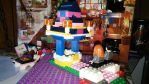 Lego Wish Well with Harry and Ginny by pieclown