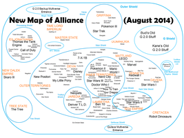 Alliance Map by BudCharles
