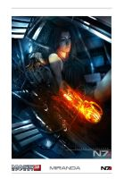 Miranda Lawson poster by kigents