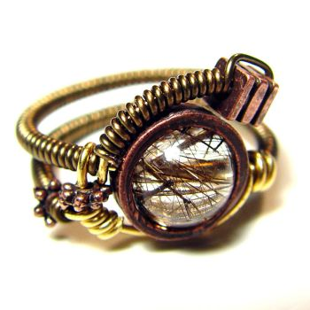 Steampunk Ring G by CatherinetteRings