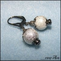 Gothic Glam Earrings by 1337-Art