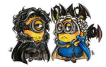 Minions of Ice and Fire by graceyanneiseki