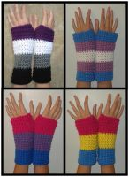 Pride Flag Armwarmers by RebelATS