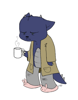 Not a Morning Person by tangerine-dragon