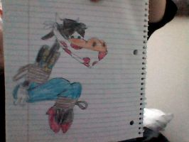 Clarabelle Cow Clothgagged (Colored) by Bluesplendont