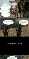 Skyrim QuickShots: Waiting* by HelloMyNameIsEd