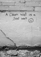 a clean wall by GodsGirl33