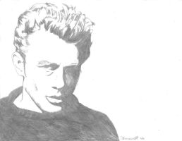 James Dean by bodahlives88