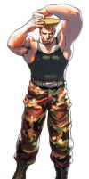 old style guile by AMERICAN5000