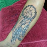 Dreamcatcher by kimberleywarrentatto