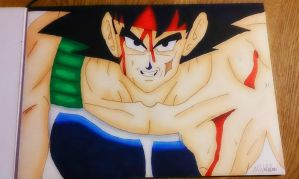 Dragon ball Z - Bardock's final battle! by nial-09