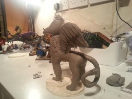 Gryphon WIP 3 by McMesser