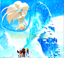 Capcom does Frozen: A Kingdom of Isolation by NekoHybrid