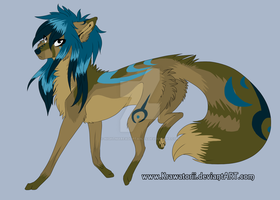 :Scene Dog Adopt:8:CLOSED: by NightmareAdoptables